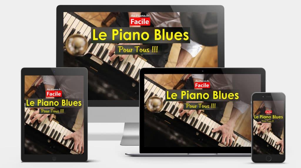 image le piano blues pour tous