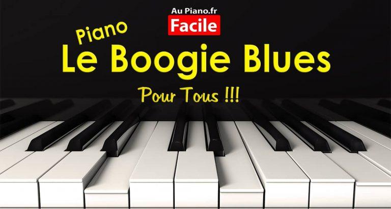 Le piano boogie blues