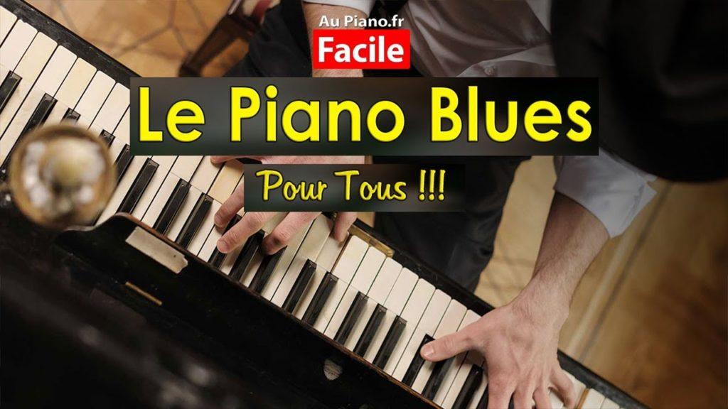 Le piano blues