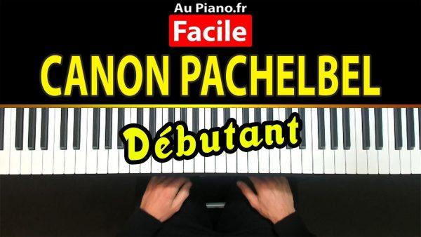 Cours de piano Le canon de Pachelbel